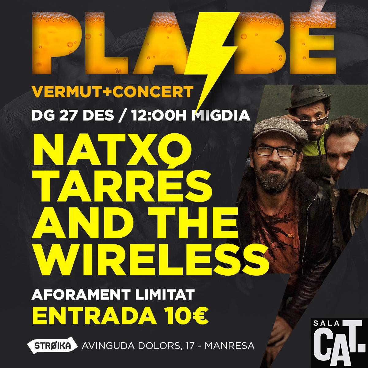 NATXO TARRÉS & THE WIRELESS